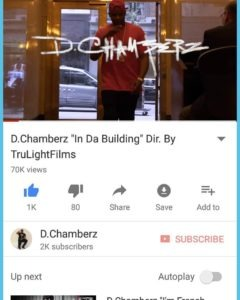 D.Chamberz hosts Monday Night Madness Celebrity Birthday Bash