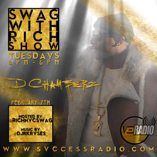 D.Chamberz on The Evening Experience 92.9