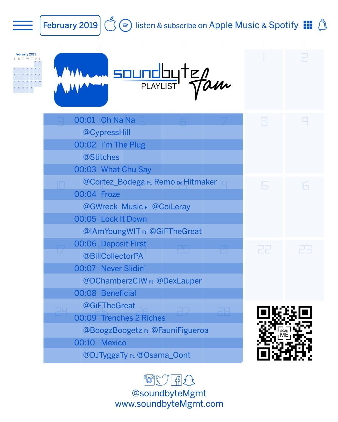 020519 soundbyteFam list