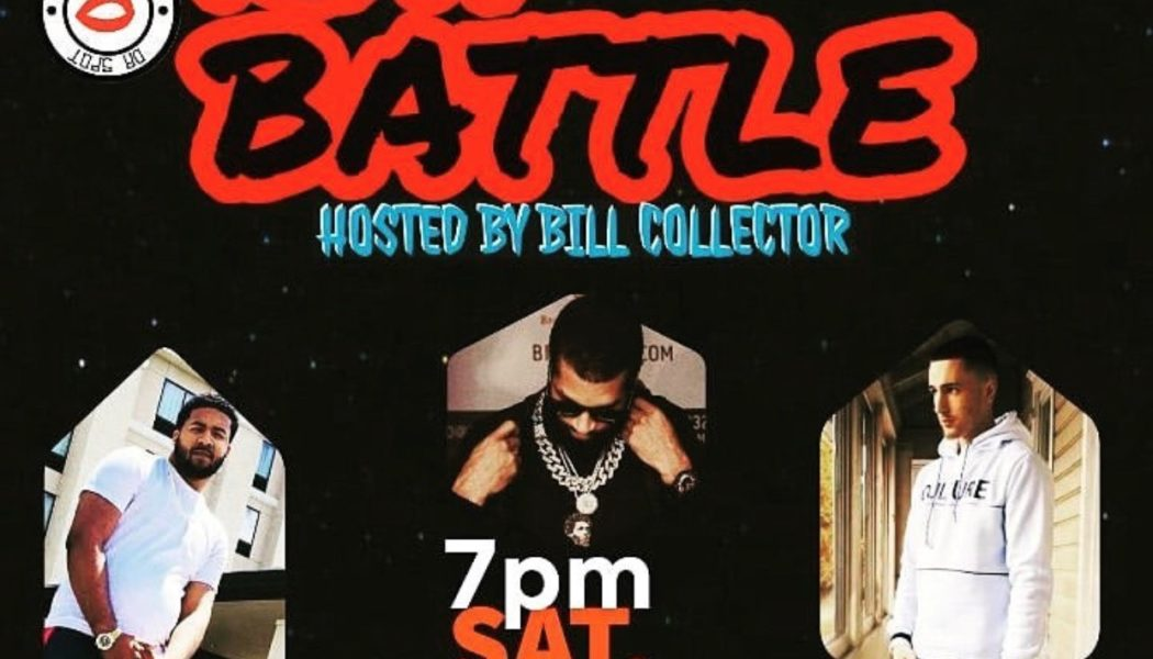 Bill Collector Hosts Rap Battle In Reading, PA